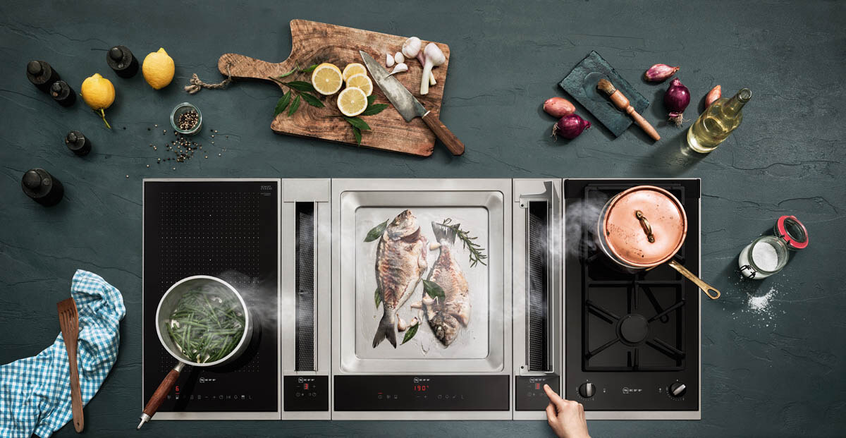 die kombi macht 39 s neff domino kochfeld f r gas induktion grill teppanyaki k chenfinder magazin. Black Bedroom Furniture Sets. Home Design Ideas