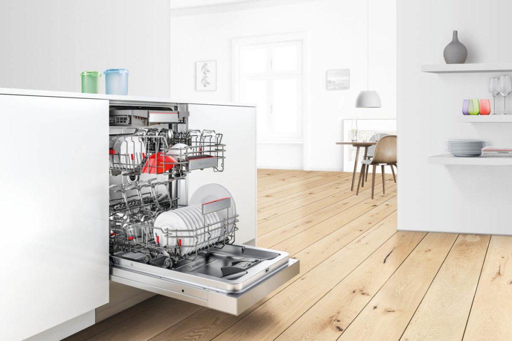 Geschirrspüler mit Perfect Dry Funktion. Foto: Bosch