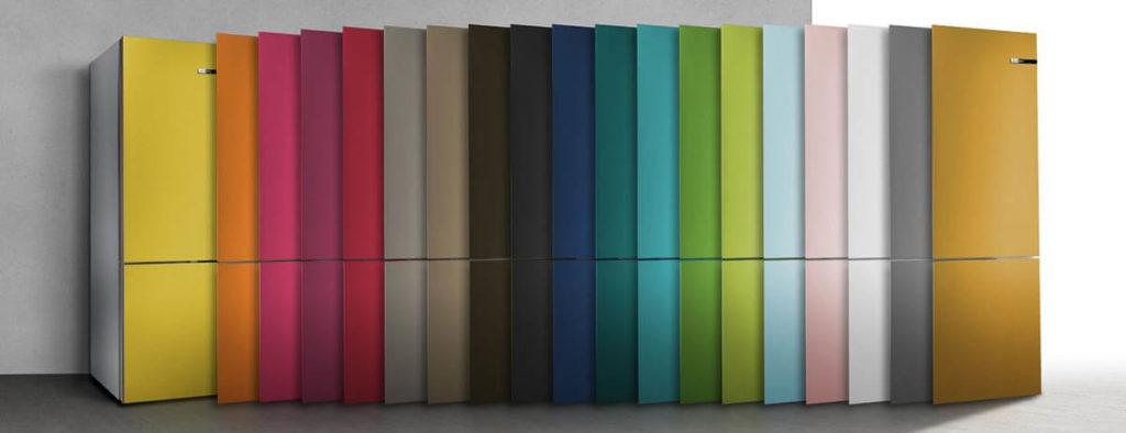 Die gesamte Vario Style Farbpalette. Foto: Bosch