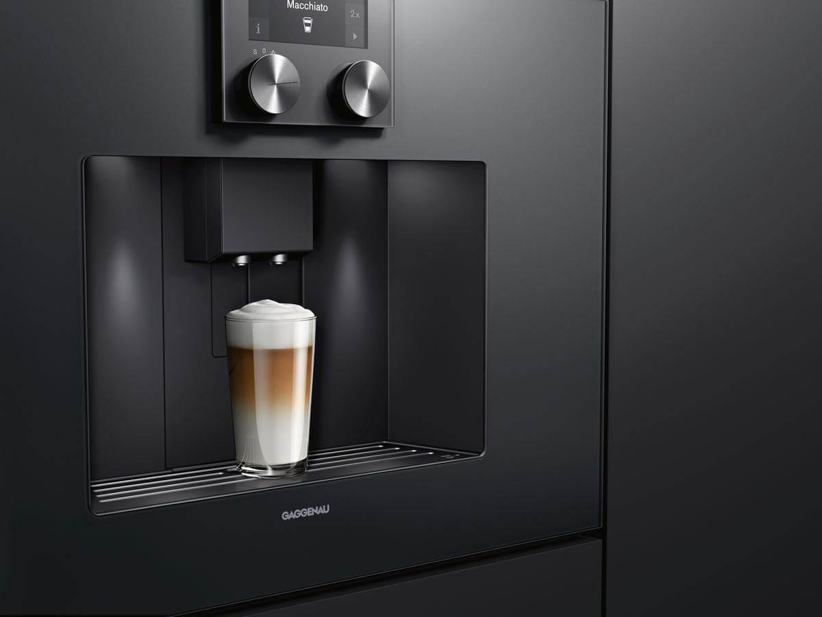 Gaggenau Kaffeevollautomat Espresso der Serie 400, Foto: Gaggenau