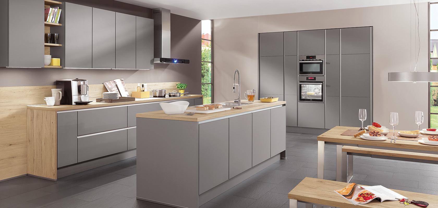 Material & Oberflächen: Alles über Küchenfronten aus Holz, Glas