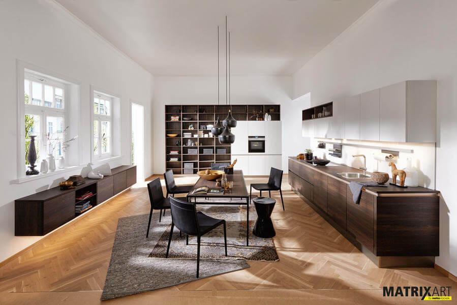 nolte fronten vergleich alle materialien farben. Black Bedroom Furniture Sets. Home Design Ideas