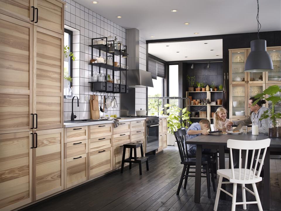 Landhausküche von IKEA selber planen; Foto: Ikea