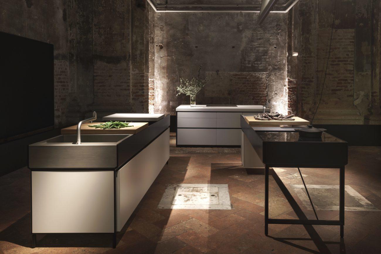 moderne k che mit bar 6 ideen f r eine bartheke aus holz stein und beton k chenfinder magazin. Black Bedroom Furniture Sets. Home Design Ideas