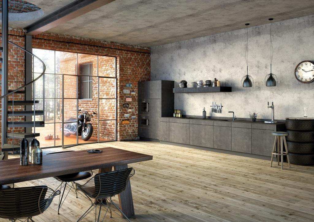 Küchenboden: Parkett oder Fliesen in der Küche ...