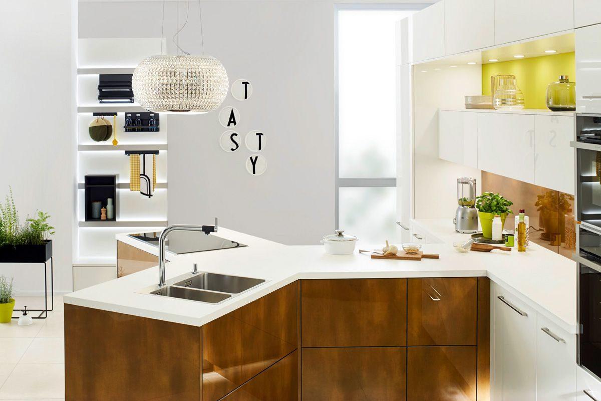 Die Y-Küche von Ballerina Küchen; Foto: Ballerina Küchen
