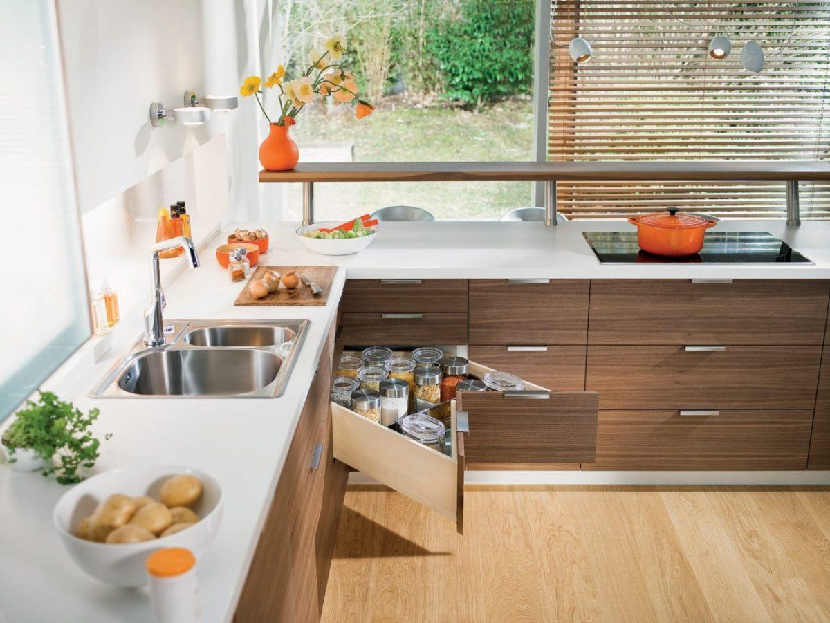 Ecklösung von Blum; Foto: Julius Blum GmbH