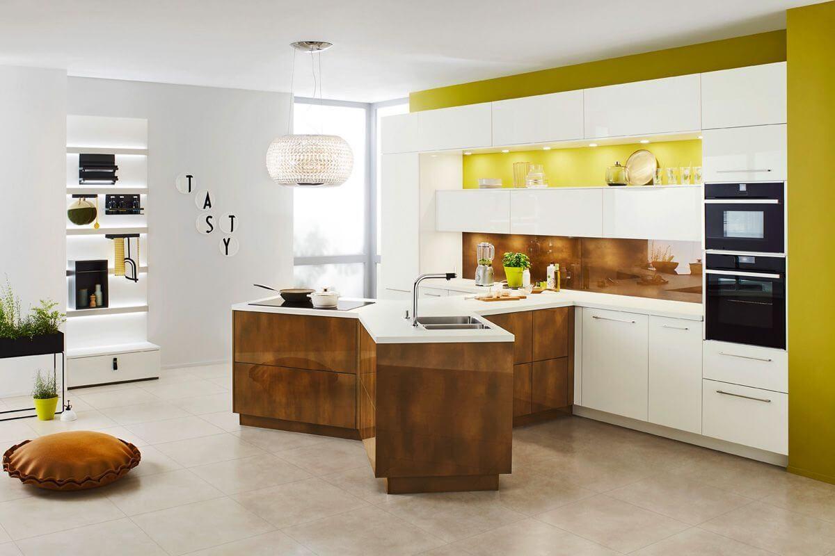 Küche in Y-Form von Ballerina; Foto: Ballerina