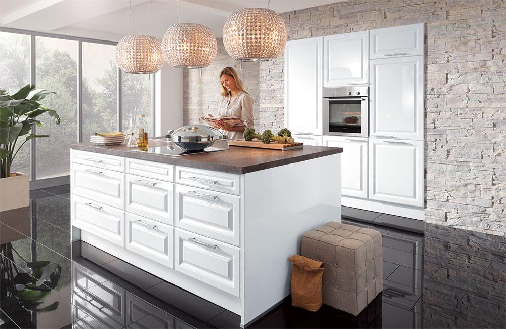 Küche in Weiß: matt oder Hochglanz? Was ist besser? - Küchenfinder