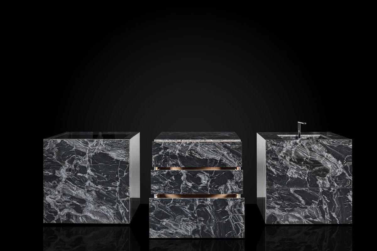 Designer-Küche aus Naturstein von SIO4; Foto: SIO4