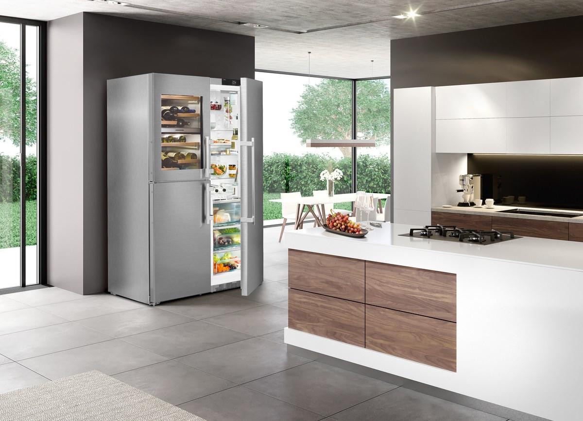 Side By Side Kühlschränke Von Liebherr Amerikanisches Design Made