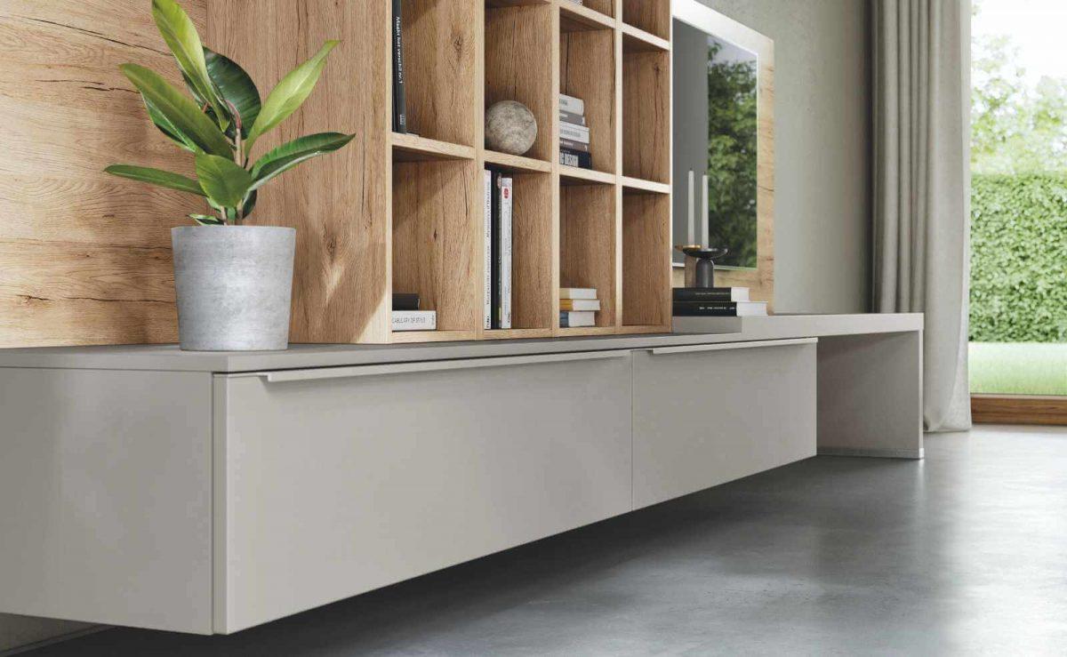 """Die Wohnraum Kollektion von nobilia steht für modernes Design und Qualität """"Made in Germany""""; Foto: nobilia"""