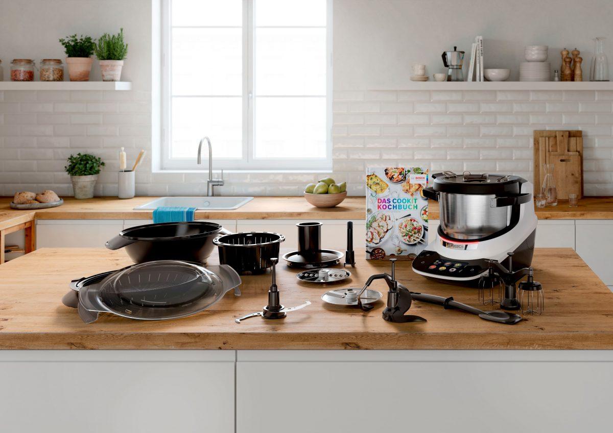 Bosch Cookit: Voll ausgestattete Küchenmaschine