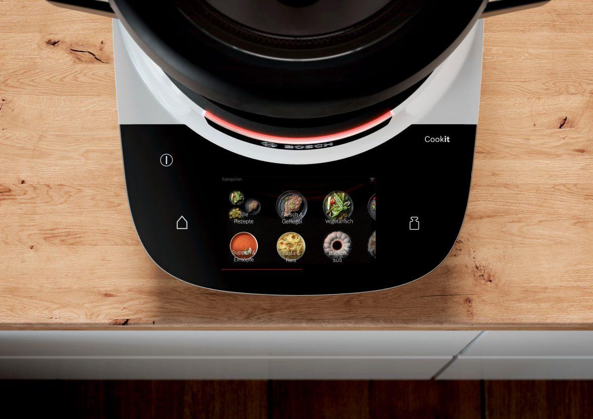 Smartes und Guided Cooking: Mit dem Bosch Cookit ist alles möglich