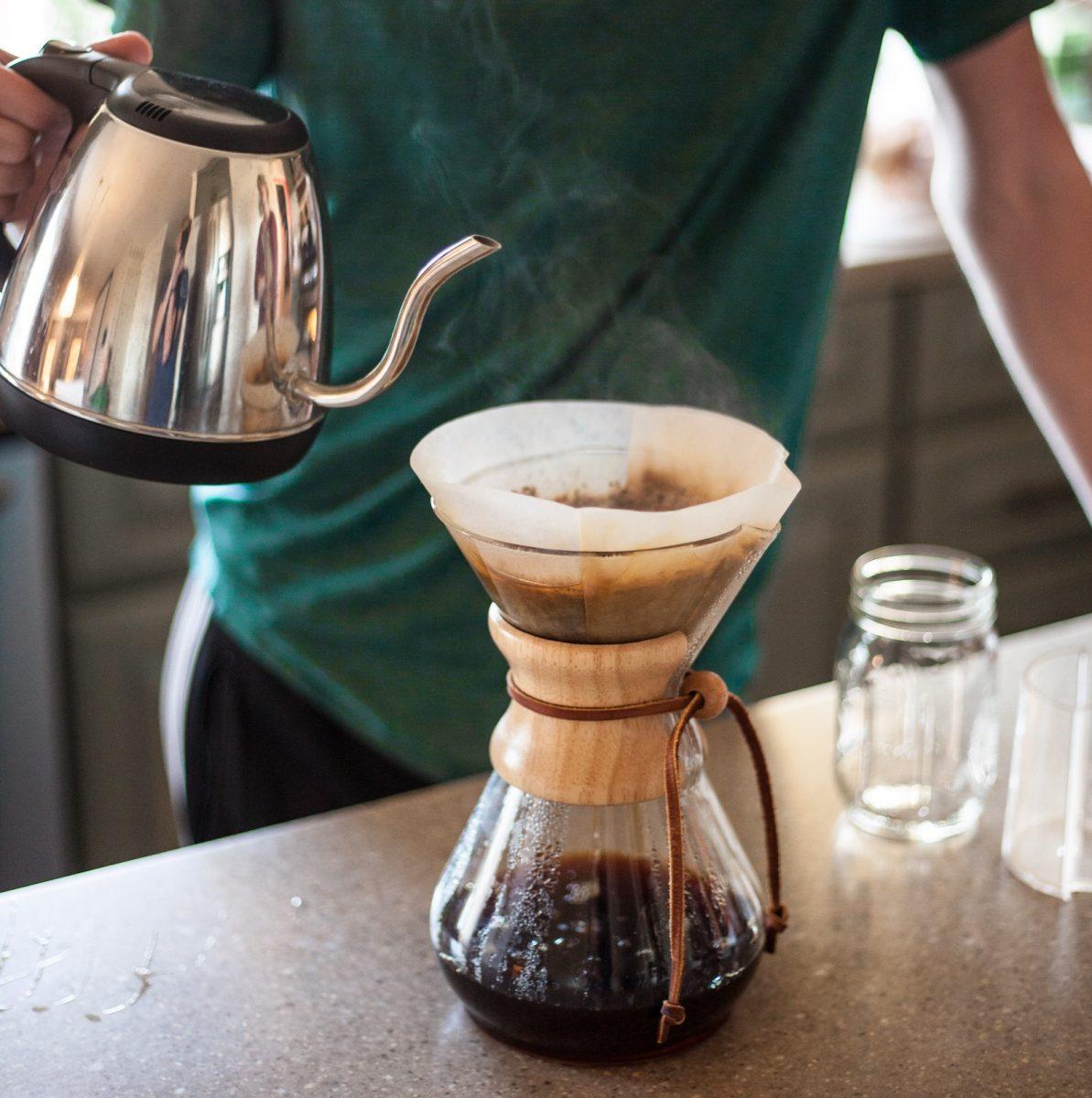Kaffee nicht mit kochendem Wasser zubereiten