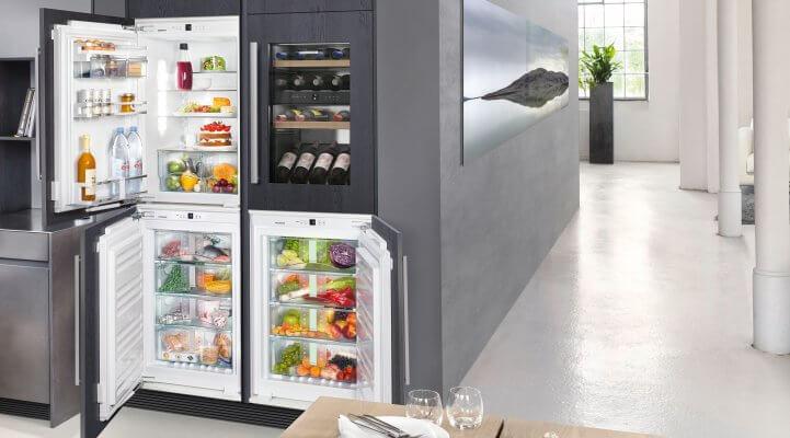 Für Individualisten: Kombination aus Kühl-, Gefrier-, BioFresh-Gerät und Wein-Schrank