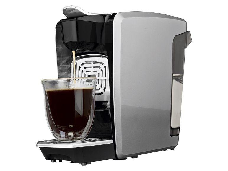 Kaffeemaschine Bellarom von Lidl - auch mit Nespresso Kapseln kompaitbel; Foto: Lidl