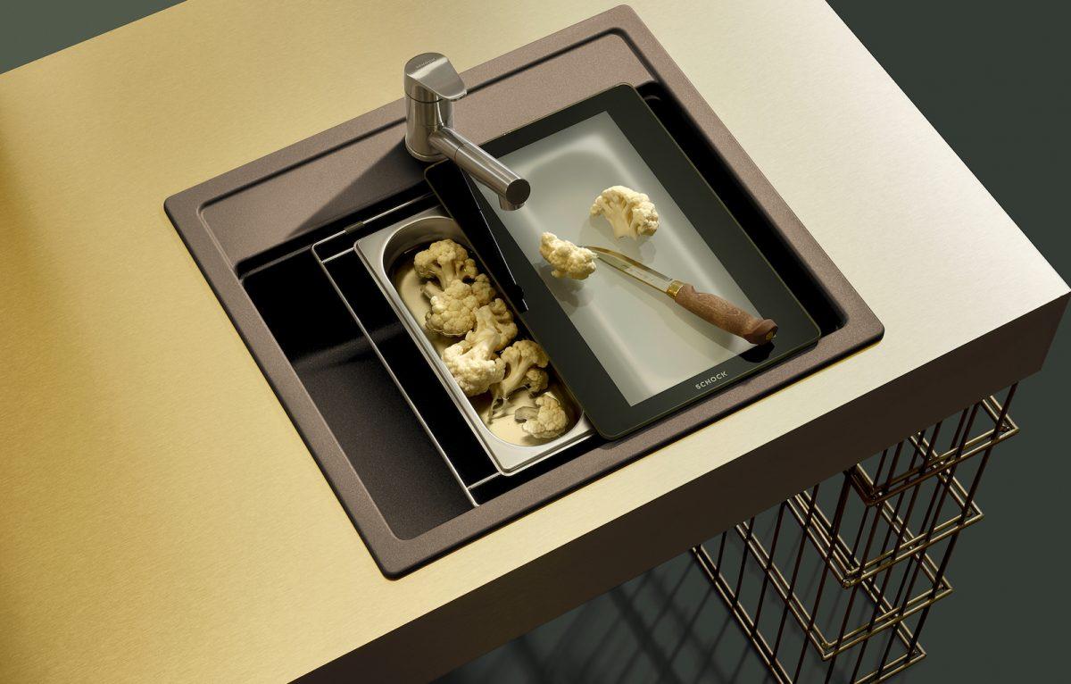 SCHOCK Evinas Armatur für die Küche; Foto: SCHOCK