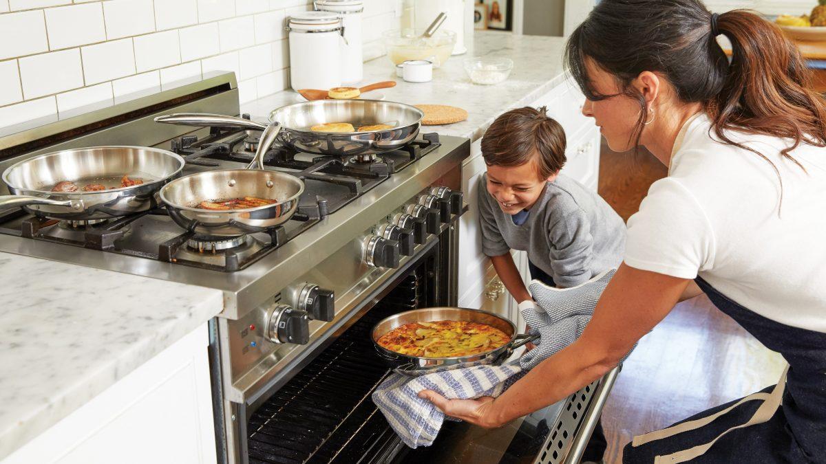 Schnell und einfach: Essen im Backofen warmhalten