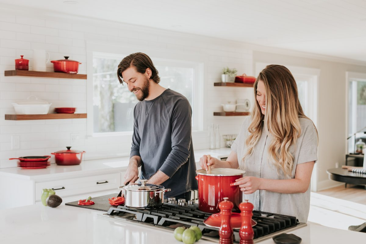 Beobachte dich und deine Kochgewohnheiten: Was sind typische Arbeitsabläufe in deiner Küche?