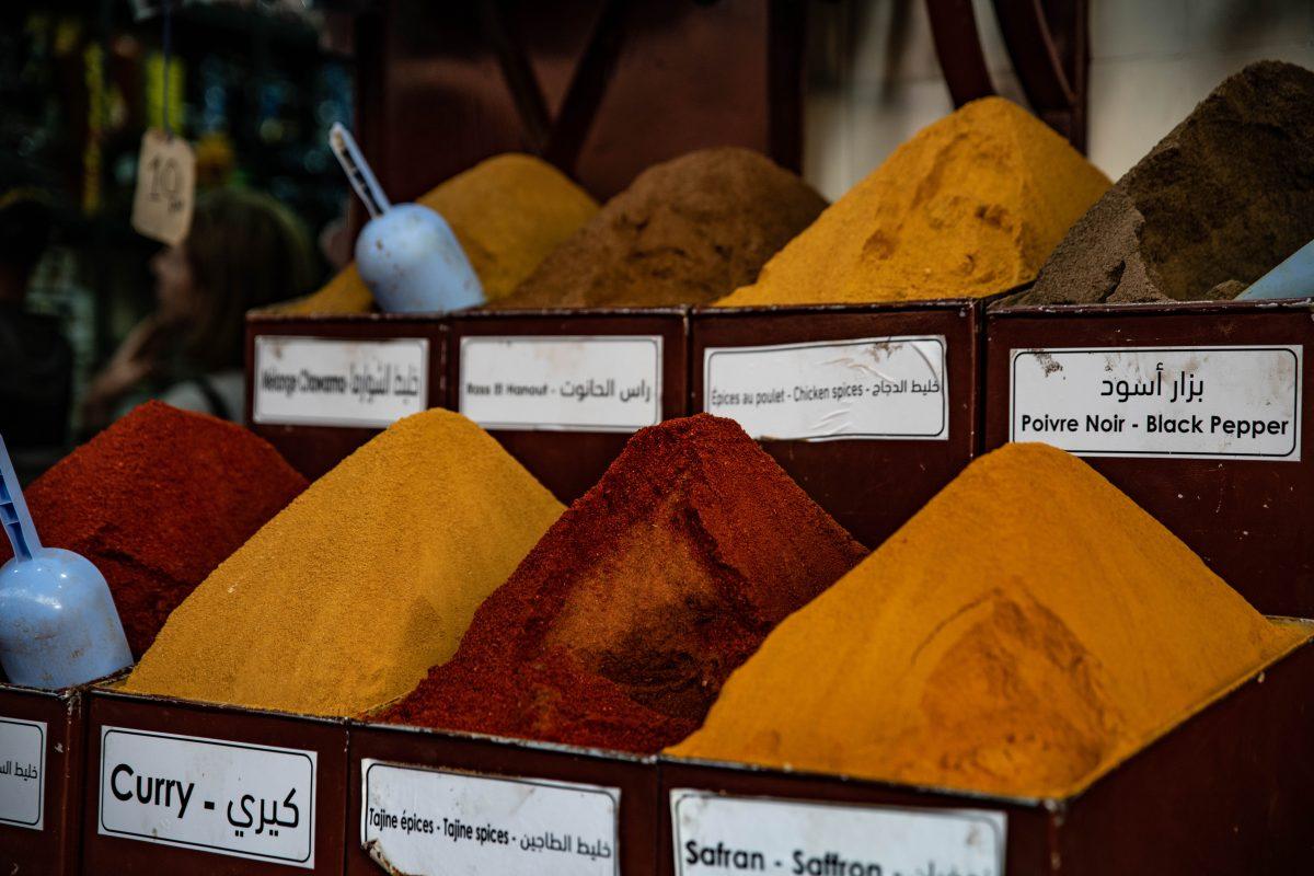 Curry und Ingwer verleihen Pilzen eine asiatische Note