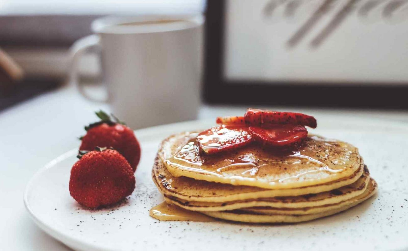 Vegane Pfannkuchen ohne Milch