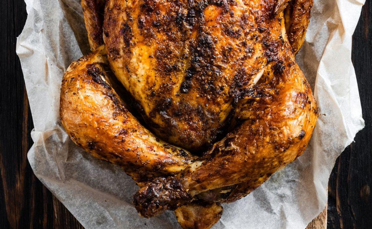 Hähnchen klassisch gewürzt mit Paprika