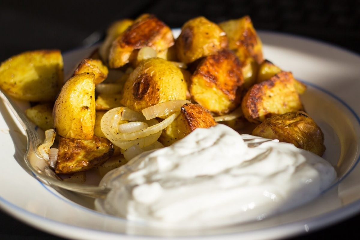 Bratkartoffeln mit Dip