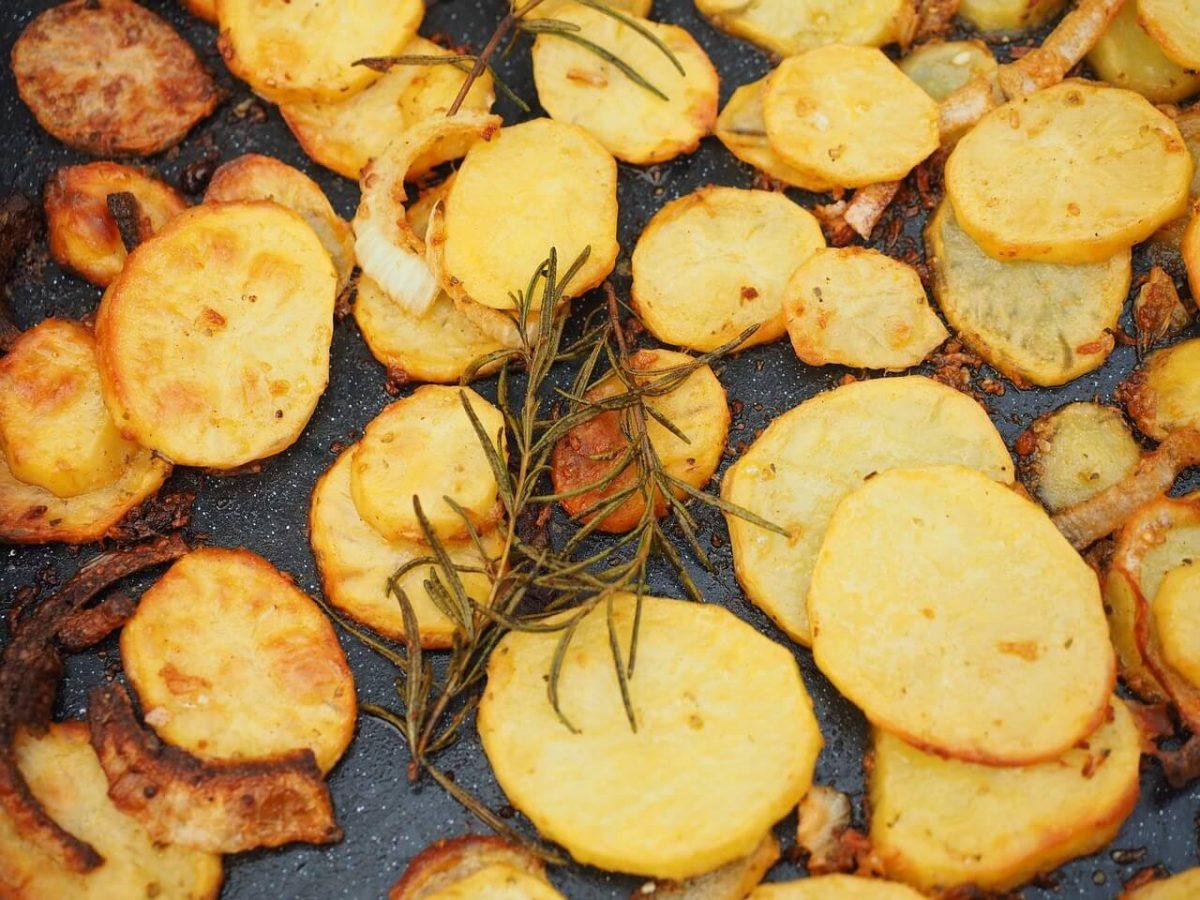 Bratkartoffeln aus dem Backofen