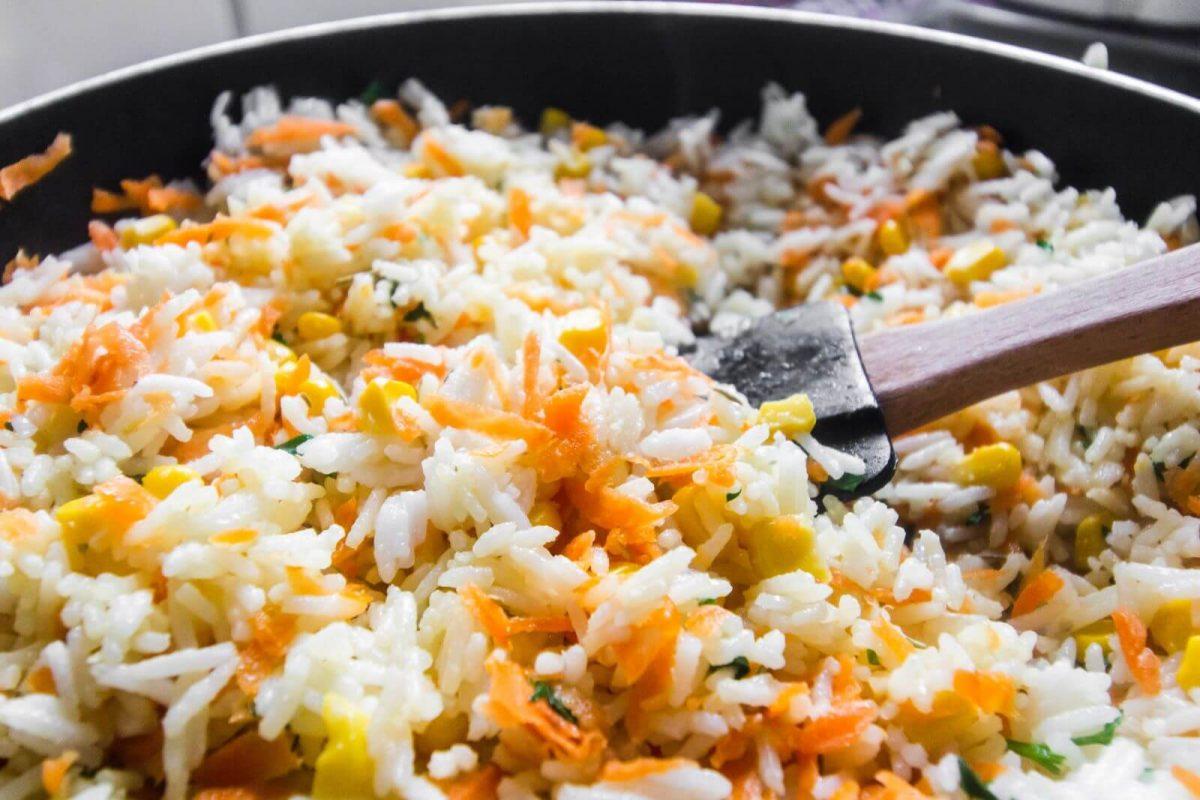 Reis aufwärmen und verwerten