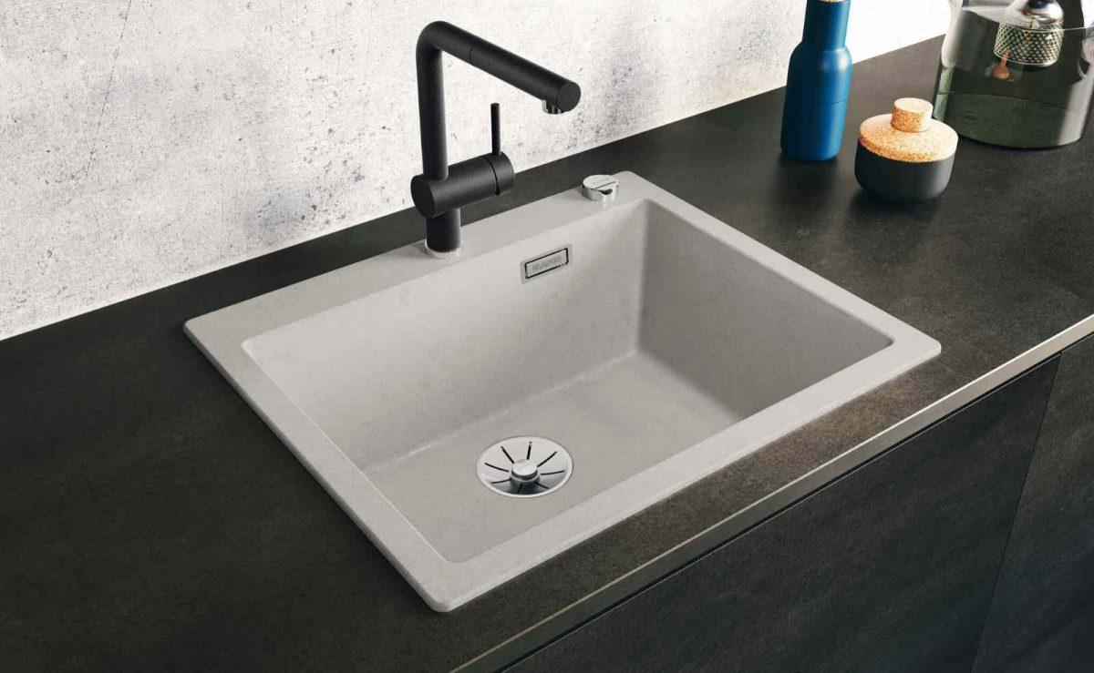 BLANCO Pleon Spüle: Die ideale Ergänzung für Küchen mit Loft-Charakter; Foto: BLANCO