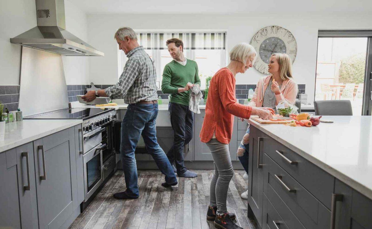 Ergonomische Küchenplanung