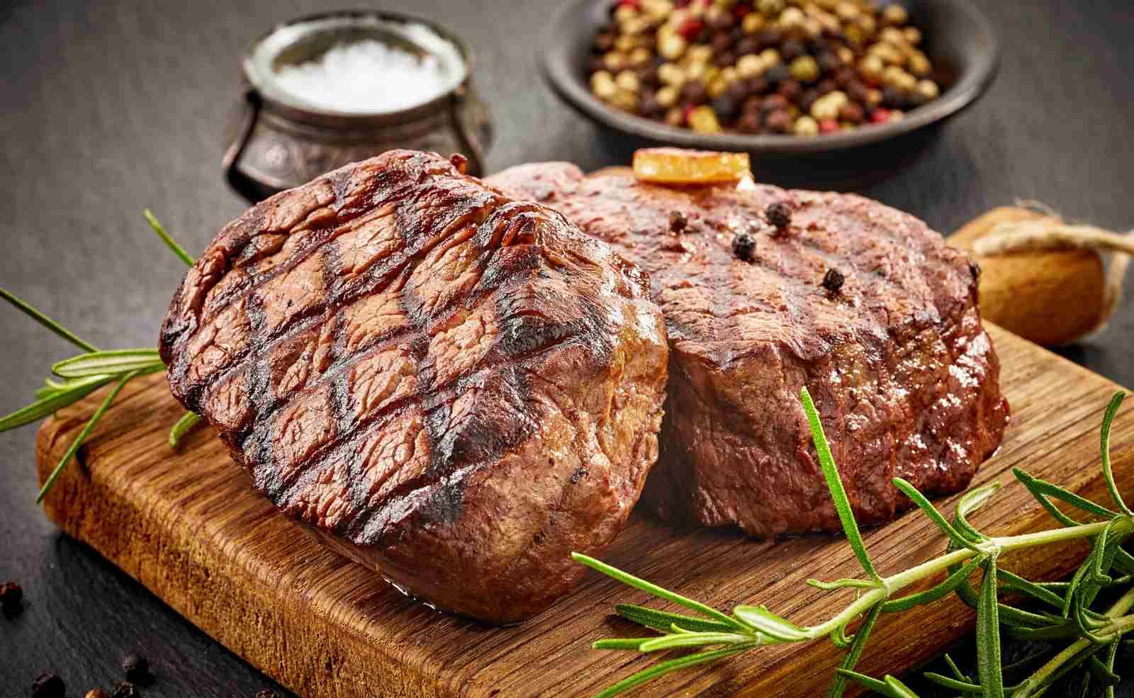 Rindfleisch grillen