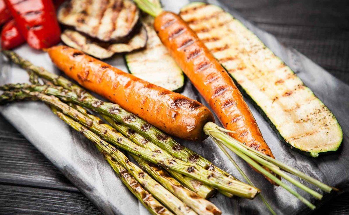 Zucchini, Spargel, Karotten,  Aubergine und Co richtig grillen