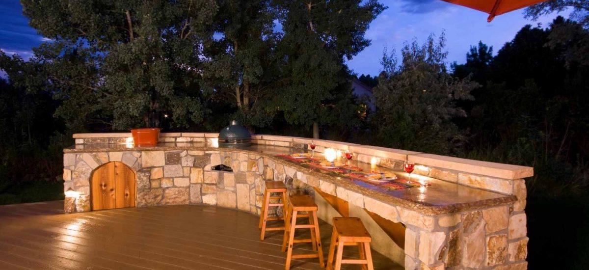 diy outdoor küche