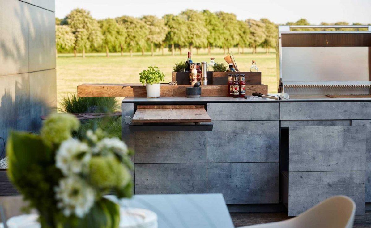 Moderne Outdoor Küche von bbqtion; Foto: Bbqtion