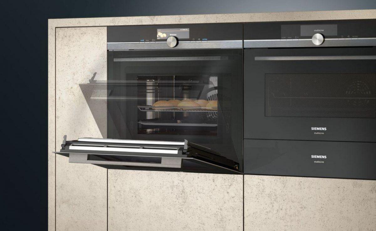 Siemens Backofen mit selbstreinigender Pyrolyse Funktion; Foto: Siemens