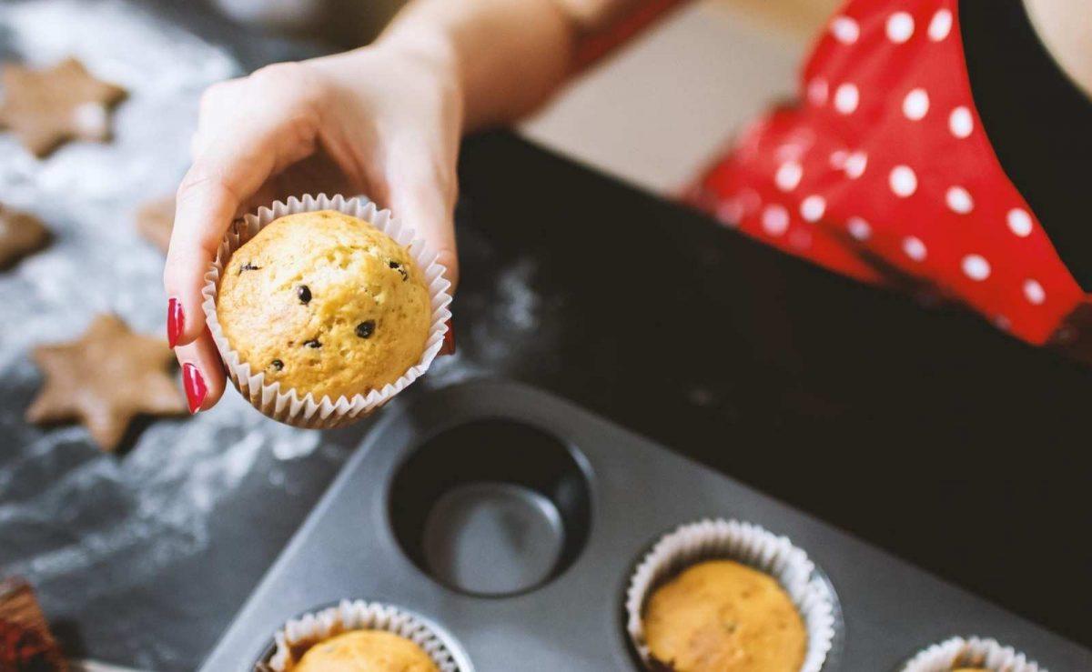 Muffins benötigen in der Regel spezielle Förmchen - es geht aber auch ohne