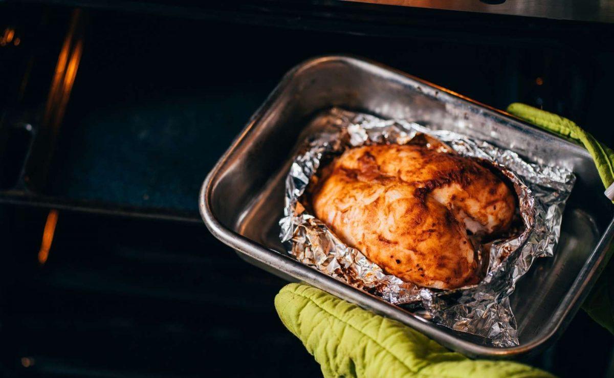 Hühnerbrust im Ofen zubereiten