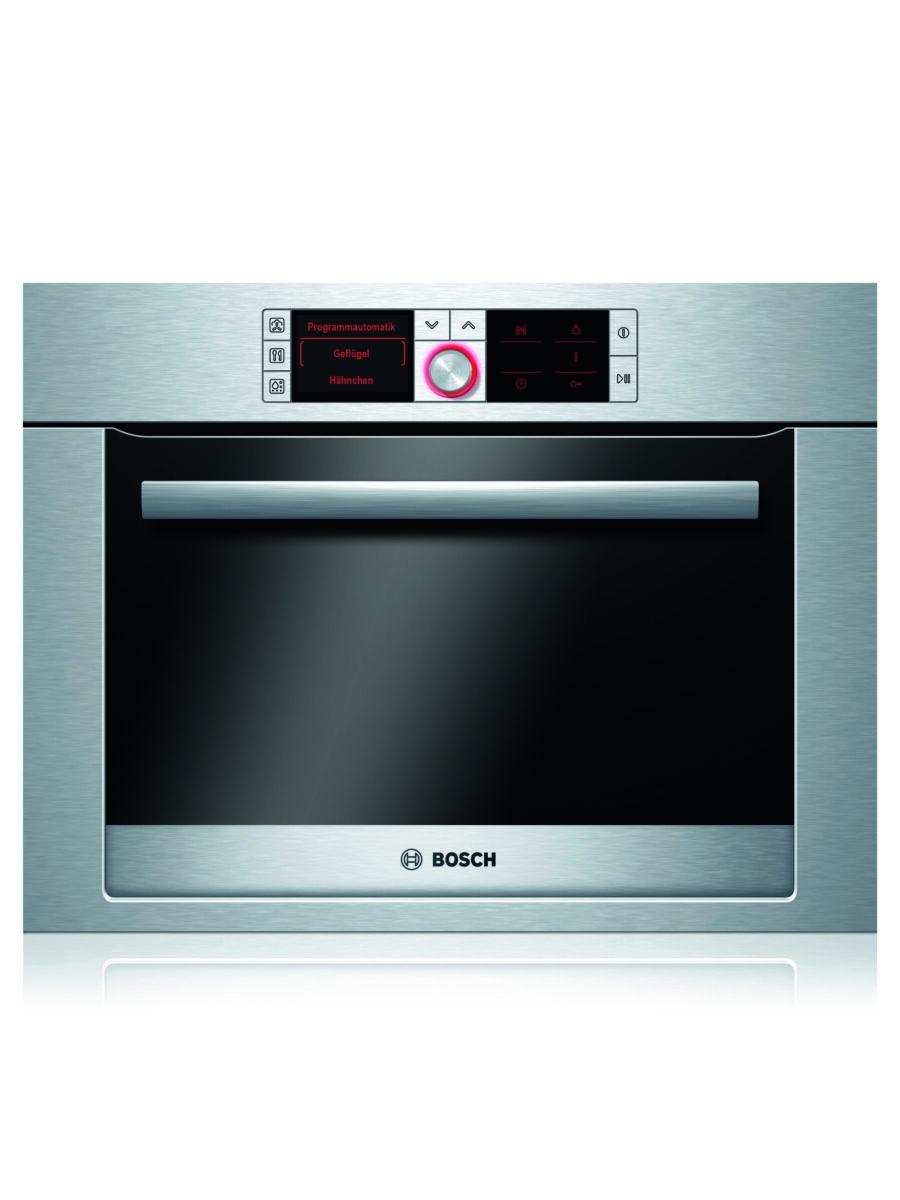Achte beim Aufwärmen der Speisen auf die richtige Temperatur. Der Bosch Dampfgarer hat sogar unterstützende Automatikprogramme für Huhn, Gemüse und Co. Foto: Bosch/BSH Hausgeräte