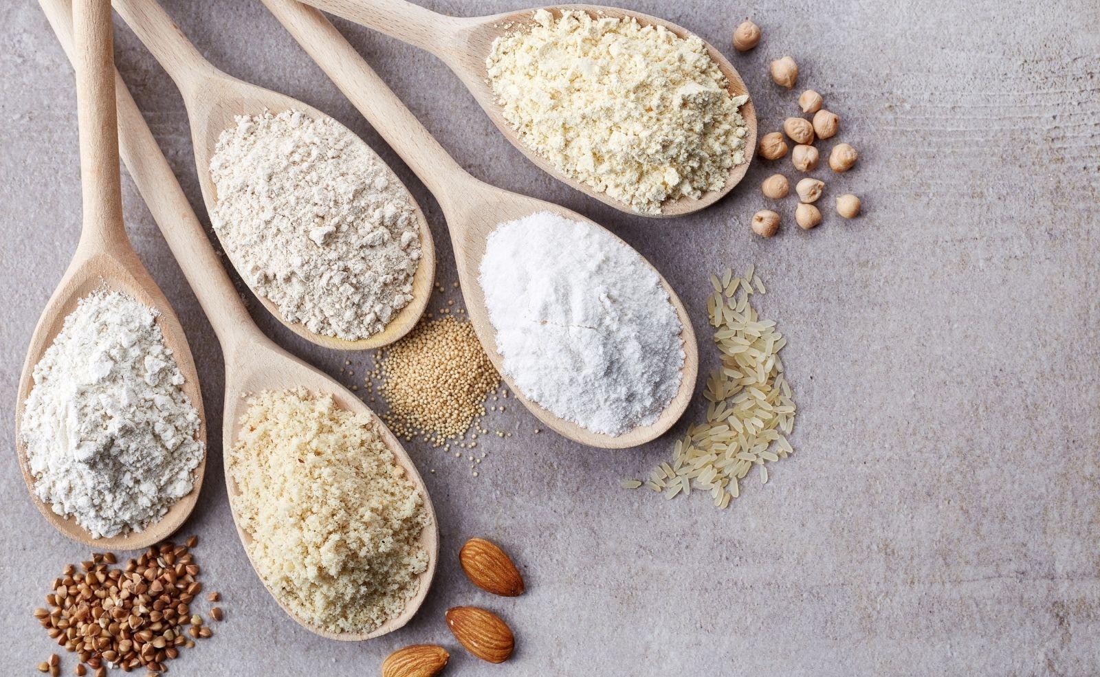 Mehl Alternativen Low Carb Gesund