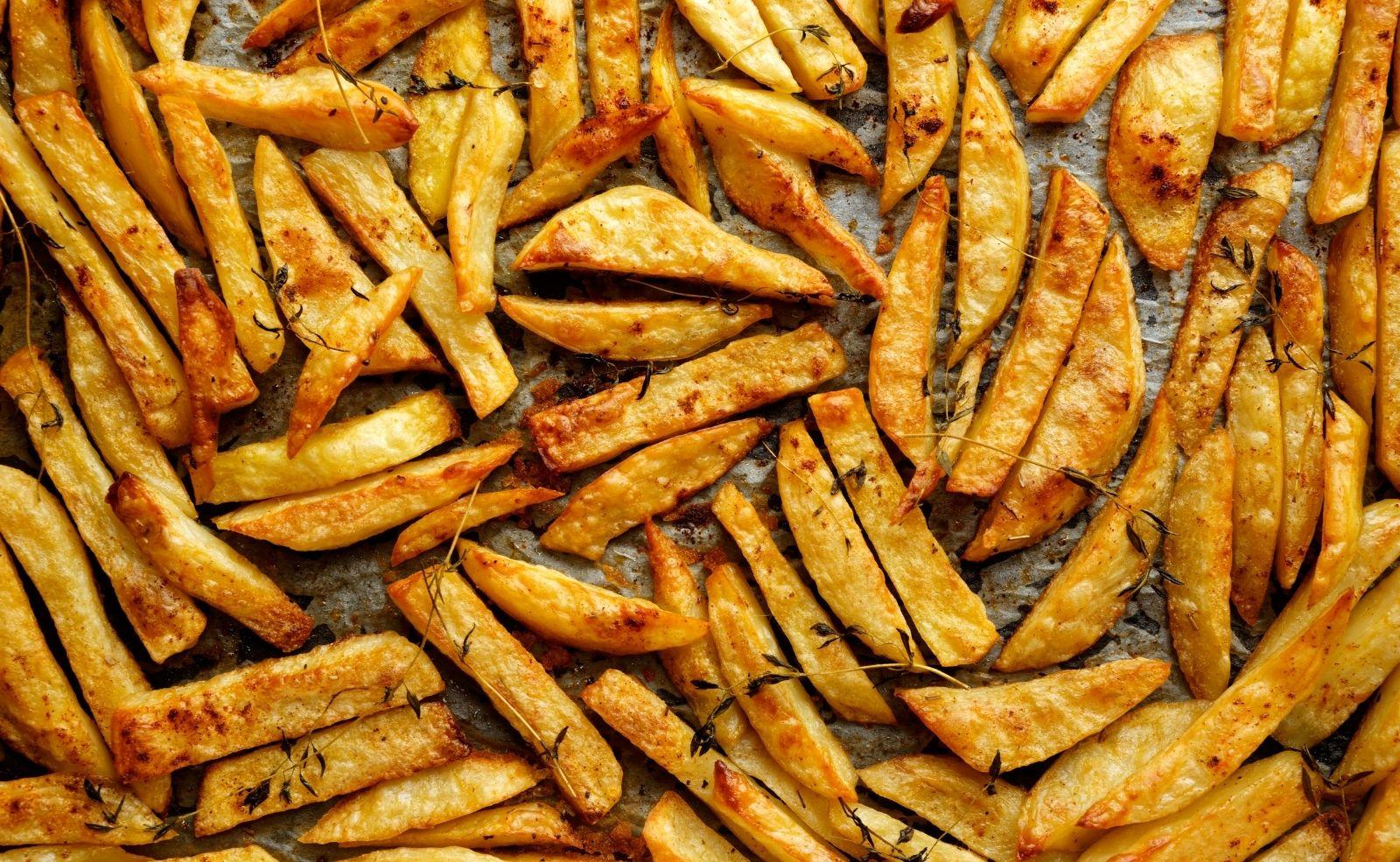 knusprige pommes backofen
