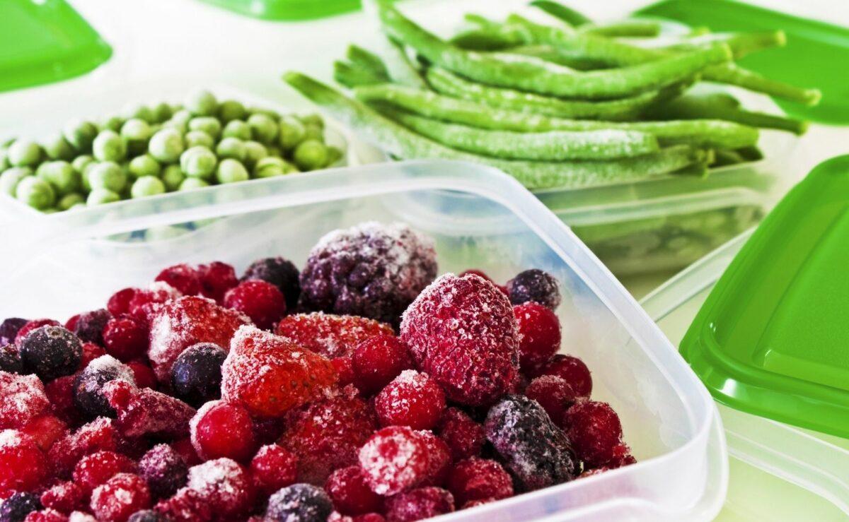 Gefrorenes Obst & Gemüse