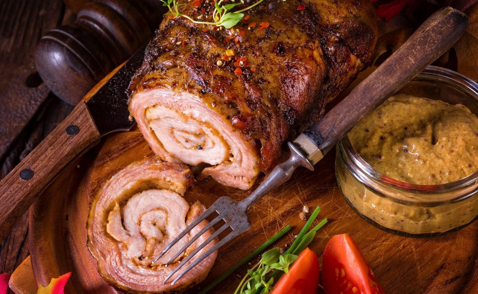 rollbraten schweinefleisch