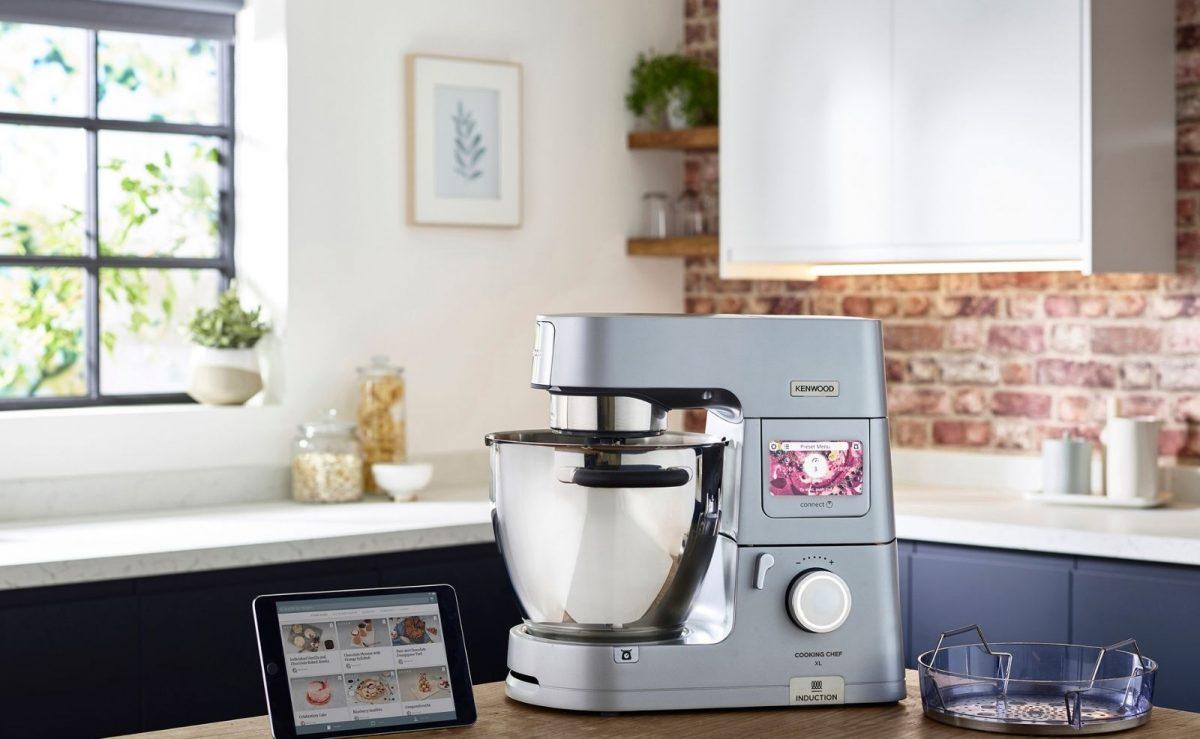 Das Fassungsvermögen der Kenwood Cooking Chef beträgt rund 6,7 Liter und ist daher auch für große Familie geeignet. Foto: Kenwood Deutschland
