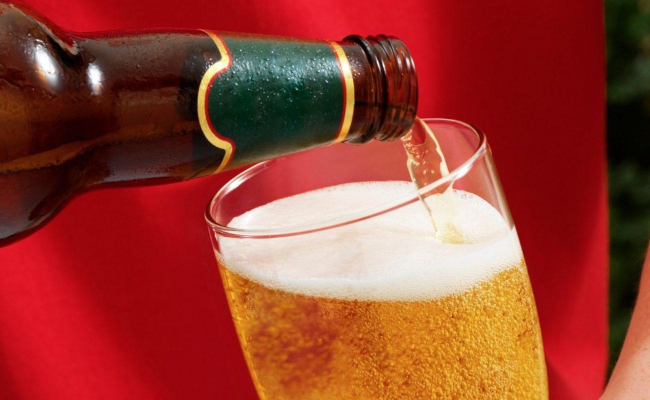 bier richtig einschenken