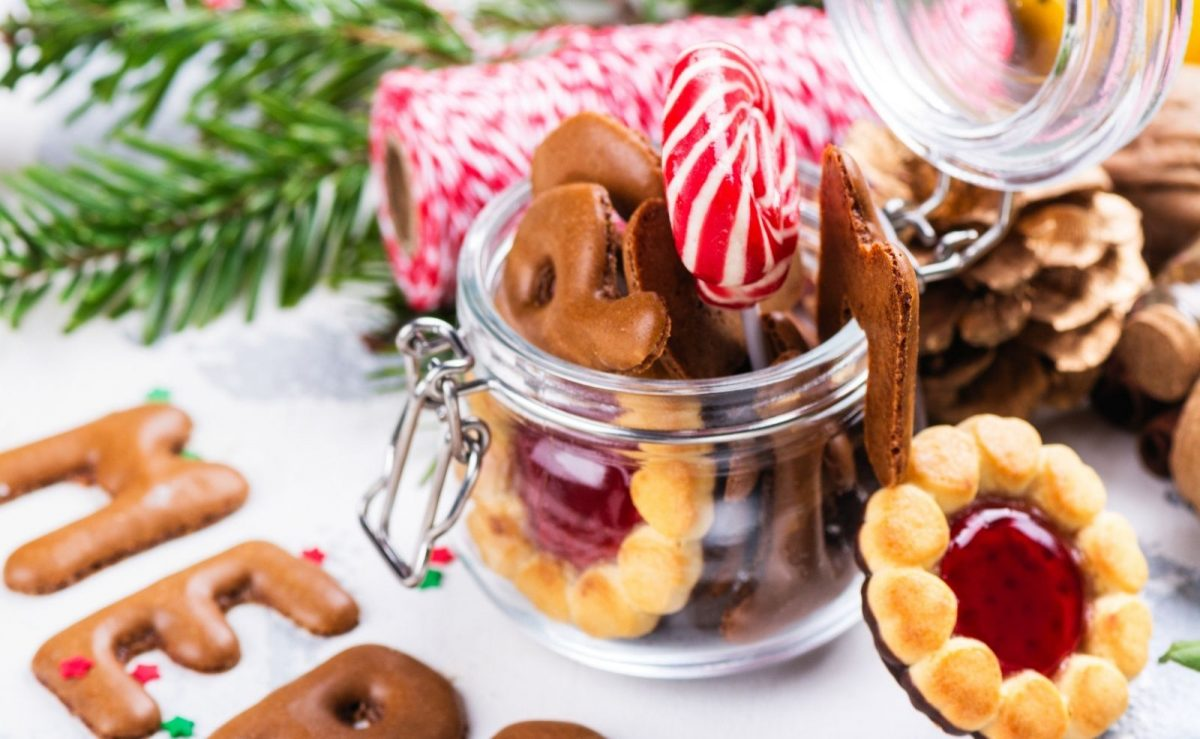 Weihnachtsplätzchen am besten in einer Keksdose aufbewahren