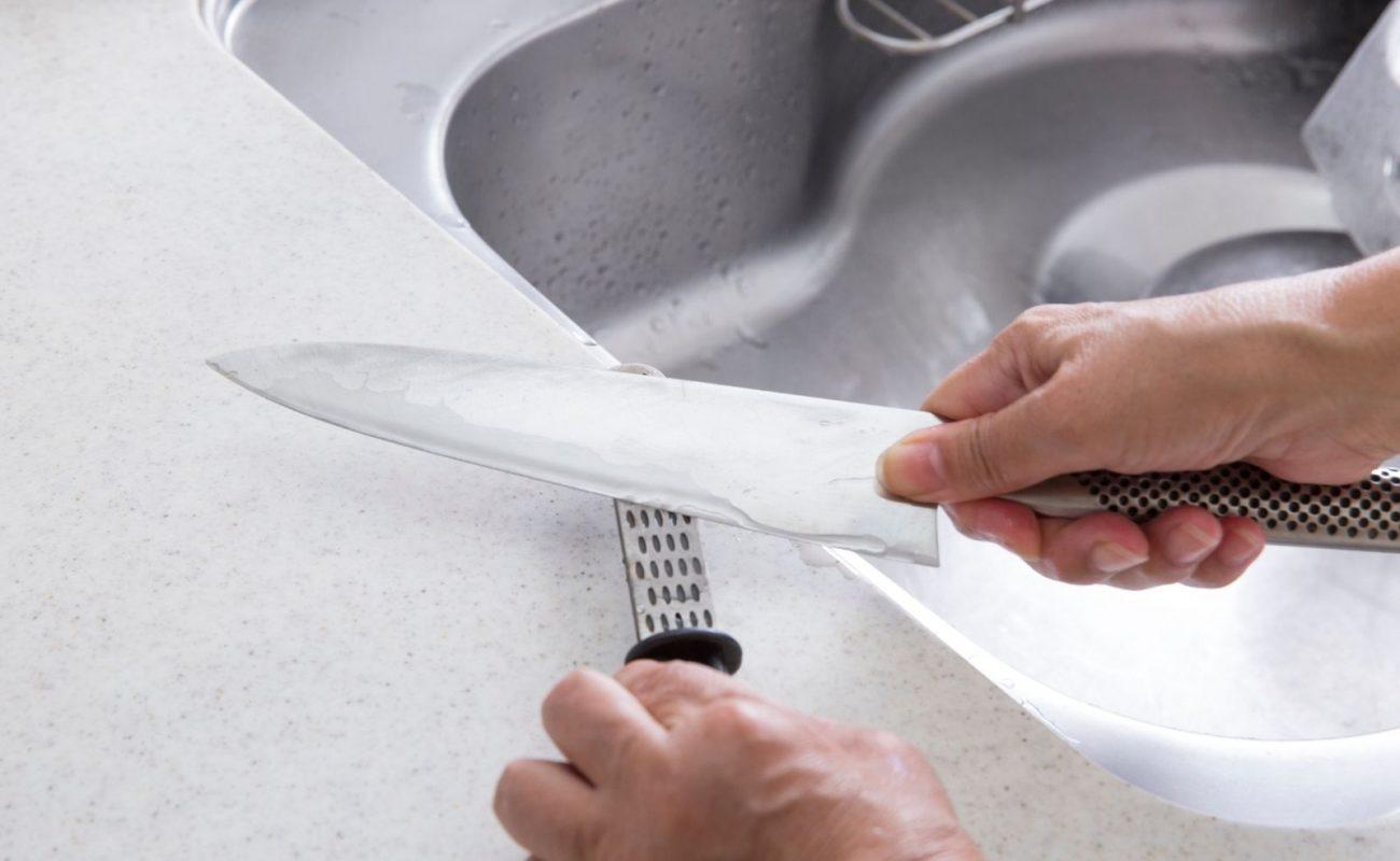 Wie schleife ich am besten Messer?