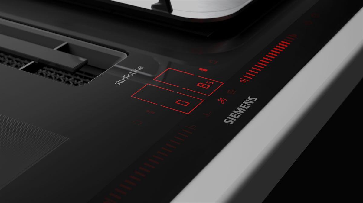 Da dualLight Slider Bediensystem ist im ausgeschalteten Zustand unsichtbar und integriert sich nahtlos in das reduzierte Design