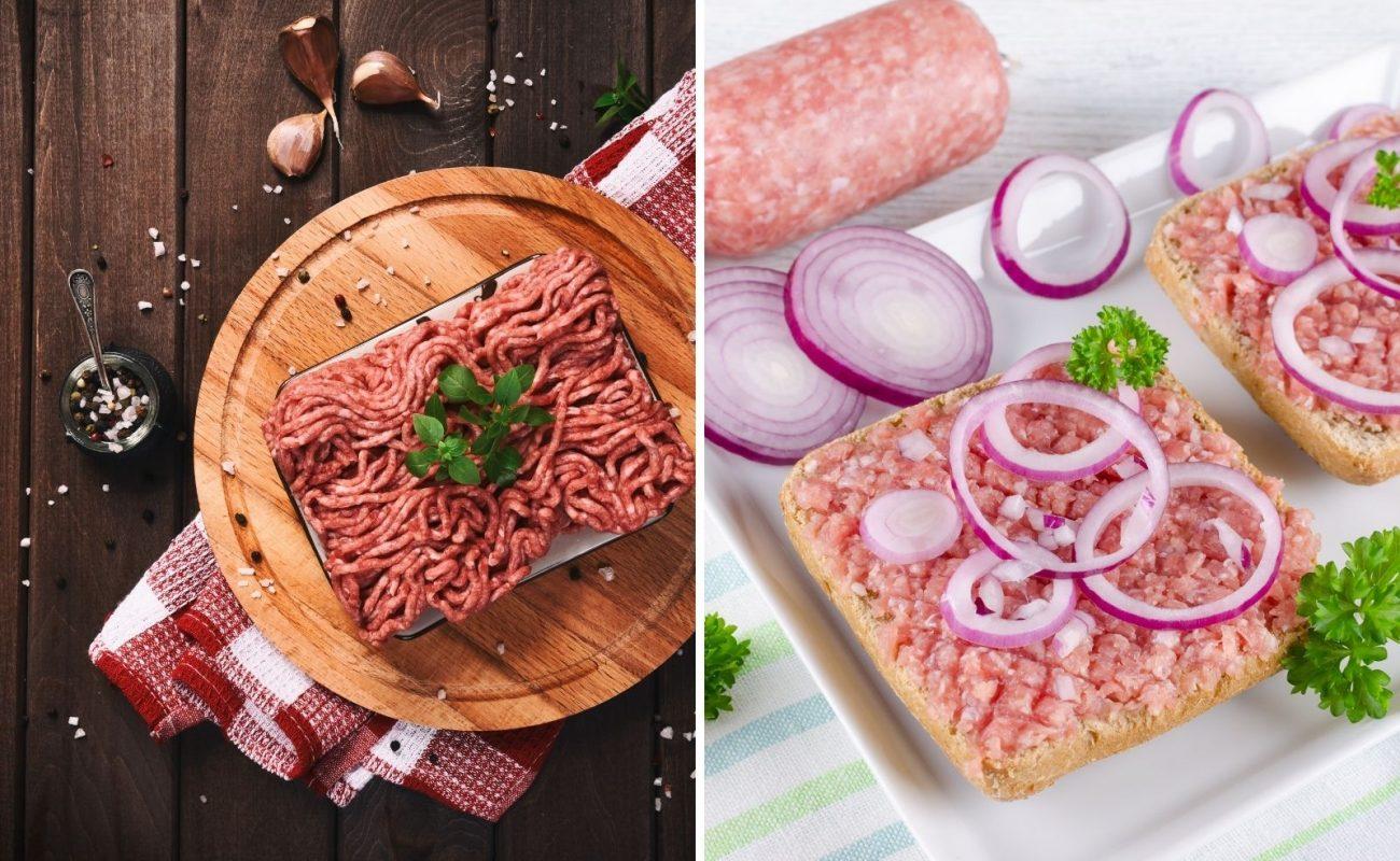 unterschied hackfleisch und mett